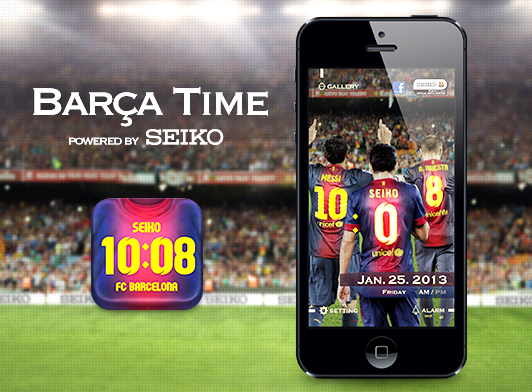 Barça Time powered by Seiko